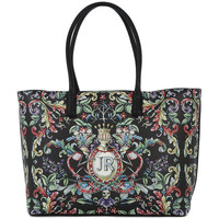 Sacs Femme Cabas / Sacs shopping Richmond CREST LARGE SHOPPING BAG Nero