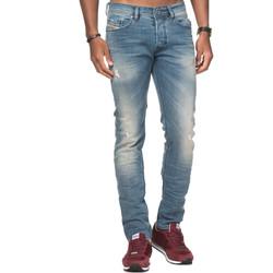 Vêtements Homme Jeans slim Diesel TEPPHAR 0845F Bleu Clair