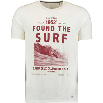 Vêtements Homme T-shirts manches courtes O'neill Surf T-Shirt Powder White