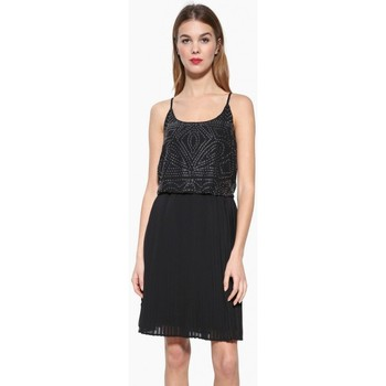Vêtements Femme Robes courtes Desigual Robe Fiona Noir 17WWVW50 38