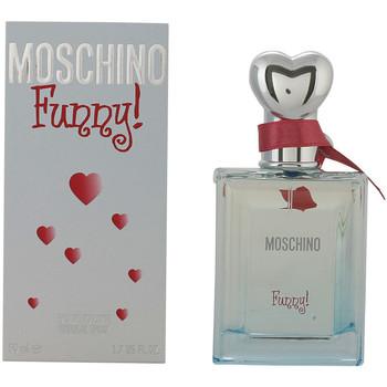Beauté Femme Eau de toilette Love Moschino Funny Edt Vaporisateur  50 ml