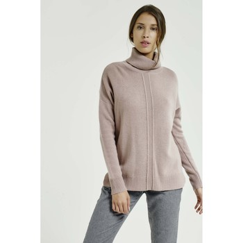 Vêtements Femme Pulls Max & Moi Pull NATION Femme Collection Automne Hiver Rose