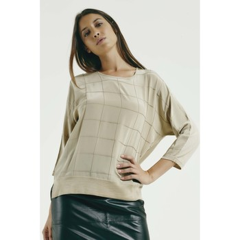 Vêtements Femme Pulls Max & Moi Pull NECTARINE Femme Collection Automne Hiver Beige