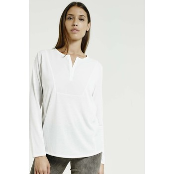 Vêtements Femme Tops / Blouses Max & Moi Top NEED blanc
