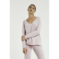 Vêtements Femme Pulls Max & Moi Pull NELSON Femme Collection Automne Hiver Rose