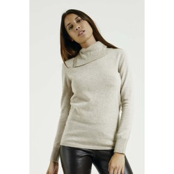 Vêtements Femme Pulls Max & Moi Pull NICO Femme Collection Automne Hiver Beige