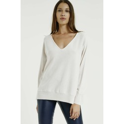 Vêtements Femme Pulls Max & Moi Pull NINDOW Femme Collection Automne Hiver Blanc