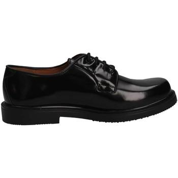 Chaussures Fille Derbies Eli 7168 NEGRO French shoes Enfant Noir Noir