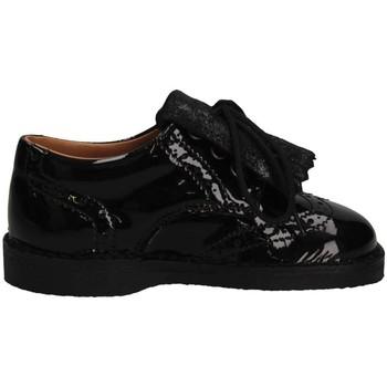 Chaussures Fille Mocassins Eli 2481 NEGRO French shoes Enfant Noir Noir