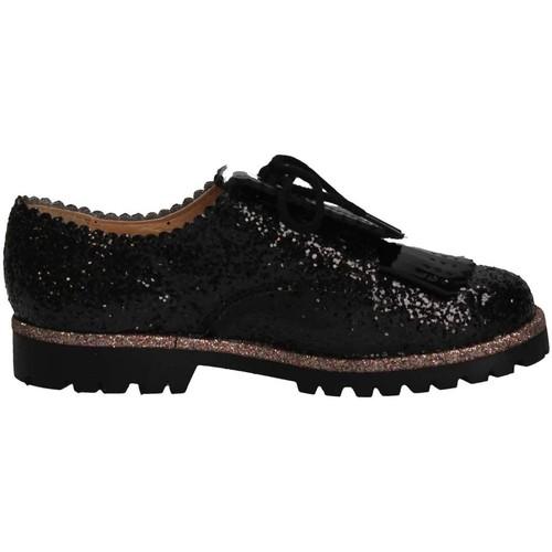 Chaussures Fille Mocassins Eli 6123V NEGRO Noir