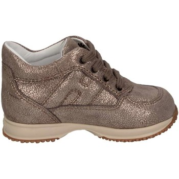 Chaussures Fille Baskets basses Hogan HXT09200010DTXC407 or