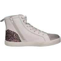 Chaussures Fille Baskets montantes Hogan HXC1410Z450HXW527G blanc