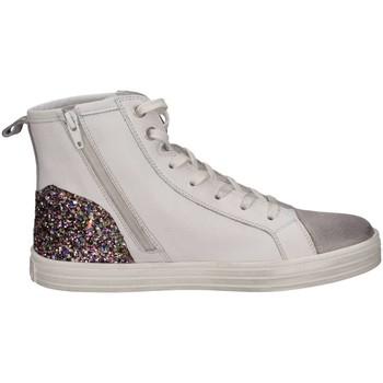Chaussures Fille Baskets montantes Hogan Junior HXC1410Z450HXW527G Basket Enfant Blanc Blanc