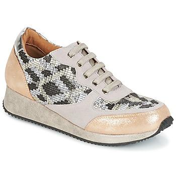 Chaussures Femme Baskets basses Karston SEMIR Beige / Doré