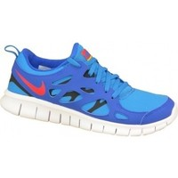 Chaussures Enfant Baskets basses Nike Free 2 Gs bleu