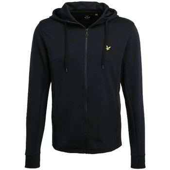 Vêtements Homme Sweats Lyle & Scott Sweat Zippé Capuche Lyle Scott Noir Noir
