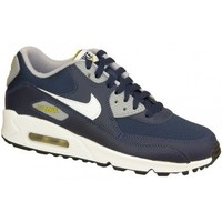 Chaussures Enfant Baskets basses Nike Air Max 90 Gs 307793-417 Białe