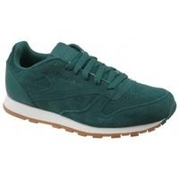 Chaussures Enfant Multisport Reebok Sport CL Leather SG CM9079 Zielone