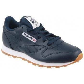 Chaussures Enfant Multisport Reebok Sport Classic Leather Gum bleu