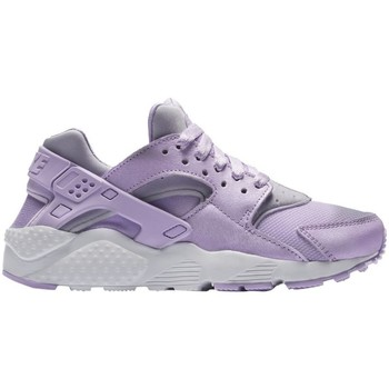 Chaussures Enfant Baskets basses Nike Huarache Run SE Blanc-Violet