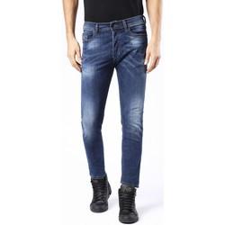 Vêtements Homme Jeans slim Diesel TEPPHAR 0679I Bleu