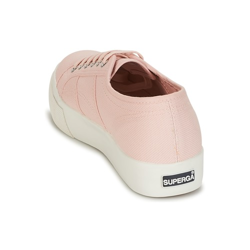 Superga 2730 Cotu Rose - Livraison Gratuite- Chaussures Baskets Basses Femme 6319 x9e9l
