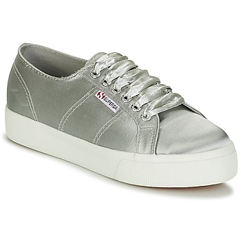 Chaussures Femme Baskets basses Superga 2730 SATIN W Gris