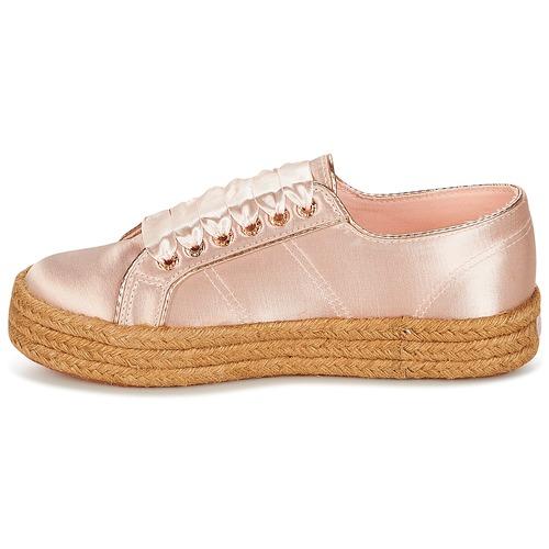 Chaussures Rose Femme Basses Superga 2730 Baskets Satin Cotmetrope W SUzqMVp