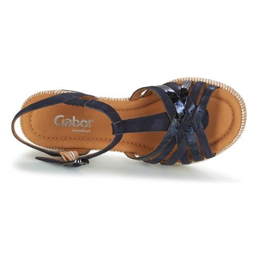 Gabor Et Sandales pieds Marine Femme Mastiar Nu EDHIW29Y