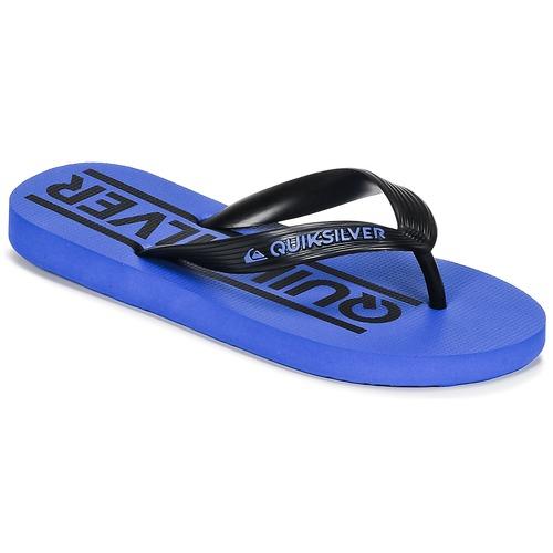 Chaussures Enfant Tongs Quiksilver JAVA WORDMARKYT B SNDL XKBK Bleu