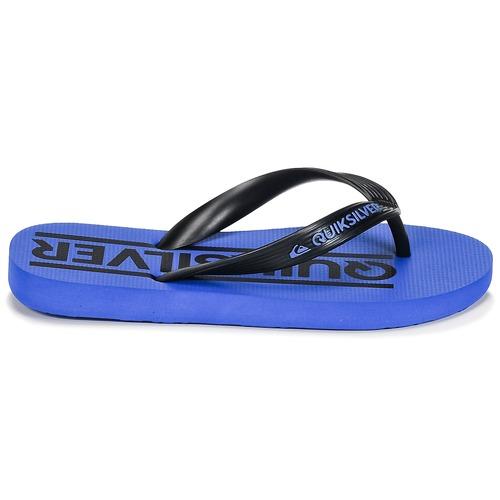 Tongs Chaussures Quiksilver B Sndl Java Wordmarkyt Xkbk Enfant Bleu WED29IHY