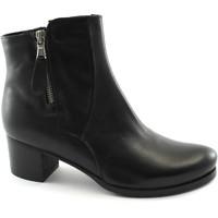 Chaussures Femme Bottines Grunland Grünland KUSA PO1604 chaussures noires femme bottines en cuir zi Nero