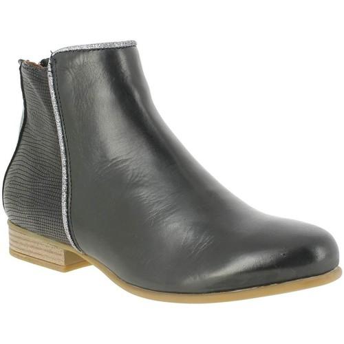 L'impertinente 15d297e noir - Chaussures Boot Femme