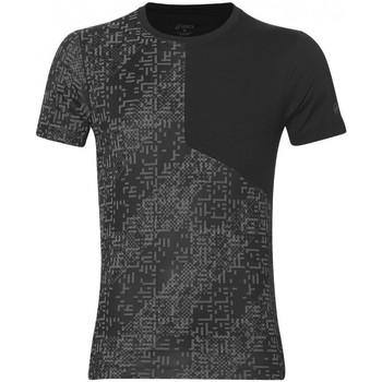Vêtements Homme T-shirts manches courtes Asics Tee-shirt  Lite Show SS Top - Ref. 146617-1179 Noir