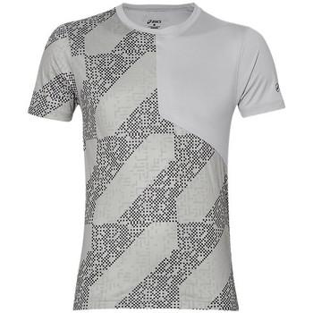 Vêtements Homme T-shirts manches courtes Asics Tee-shirt  Lite Show SS Top - Ref. 146617-1189 Gris