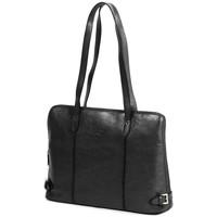 Sacs Femme Cabas / Sacs shopping Katana Sac shopping en cuir de Vachette K 82574 Noir