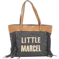 Sacs Femme Cabas / Sacs shopping Little Marcel Sac Shopping Victoire Noir VI 01 Noir