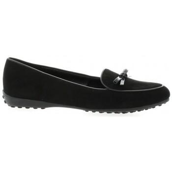 Chaussures Femme Mocassins Exit Mocassins cuir velours Noir