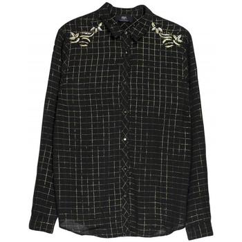 Chemise Le temps des cerises chemise femme luxy noir