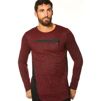 Vêtements Femme Pulls Hite Couture Pull, Gilet HOMME - ABALIT_ROUGE Rouge