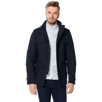 Vêtements Homme Vestes Jack & Jones CODY WOOL JACKET Bleu Marine