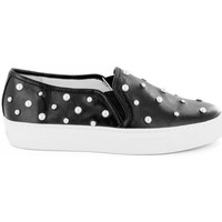 Chaussures Femme Baskets basses Katy Perry Slip On- Noir
