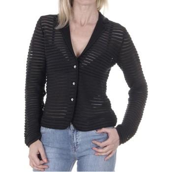 Vêtements Femme Gilets / Cardigans Armani jeans C5W41 Bleu Marine