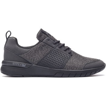 Chaussures Homme Baskets basses Supra Chaussures  SCISSOR Black black Black/Black