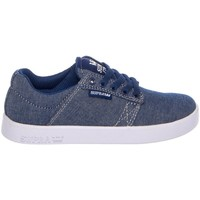 Chaussures Enfant Baskets basses Supra KIDS WESTWAY navy white Gris