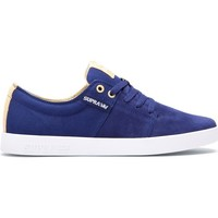 Chaussures Homme Baskets basses Supra STACKS II NAVY KHAKI WHITE Bleu