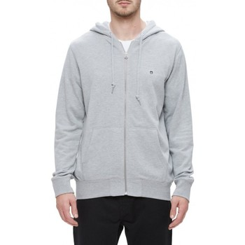 Vêtements Homme Sweats Obey Sweat  Eighty Nine Icon Zip Hood - Heather Grey Gris