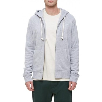 Vêtements Homme Sweats Obey Sweat  Lofty Creature Cmfrt Zip Hood - Athletic Heather Grey Gris