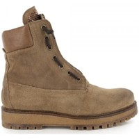 Chaussures Femme Bottines Manas Bottines- Camel