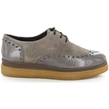 Chaussures Femme Derbies Manas Derbies- Gris